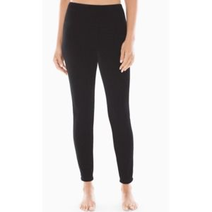 Soma Soothing Velvet Leggings In Black